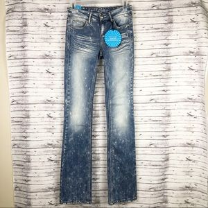 Almost Famous Jeans Super Soft Stretchy Distressed